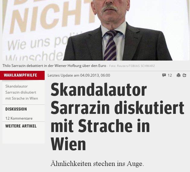 Sarrazin meets Strache