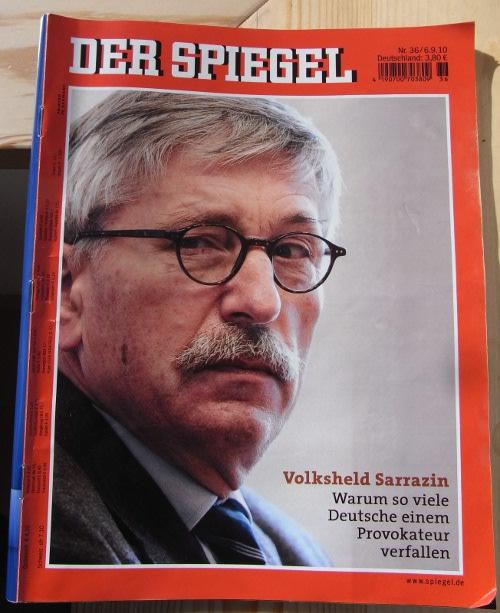 Der sarrazin hype geht weiter for Spiegel titelblatt
